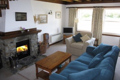 Islay Cottage sitting room