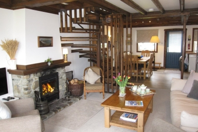 Jura Cottage sitting room