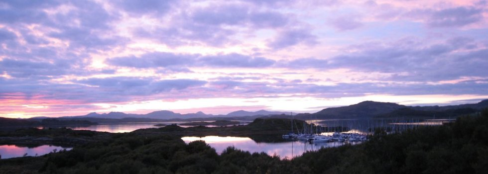 View over Craobh Haven