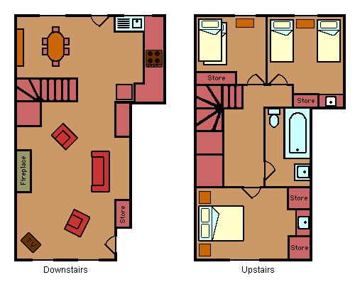 Jura Cottage floorplan