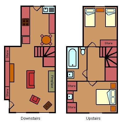 Islay Cottage floorplan